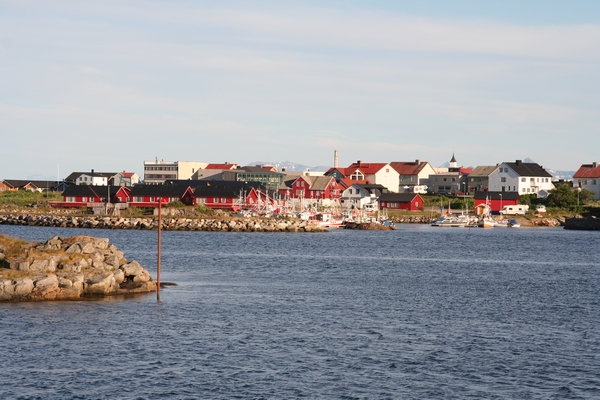 Pogled proti pristanišču