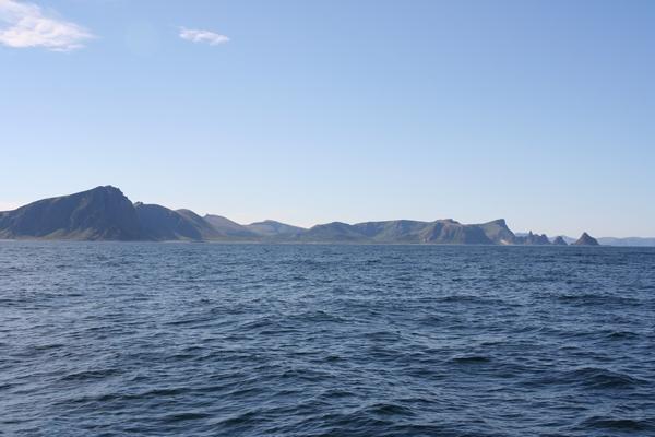 Pogled proti zahodni obali otoka