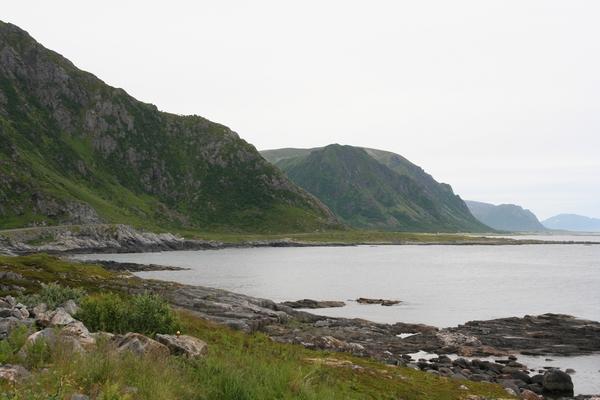 Severna obala otoka Andøya