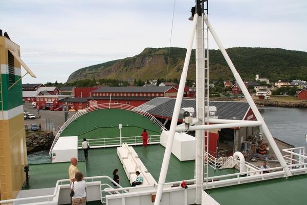 Prvič na Norveškem trajektu