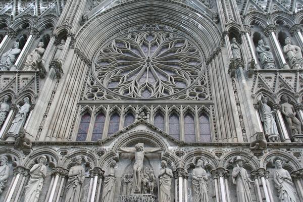 Detajl pročelja stolnice