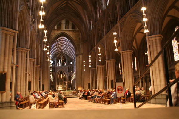 Notranjost cerkve