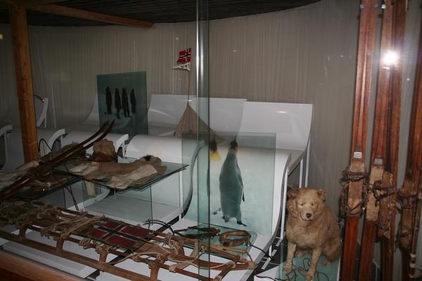 Del muzeja je posvečen raziskovalcem nekoristnega sveta