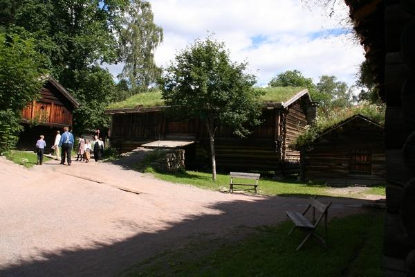 Hiše iz vse Norveške