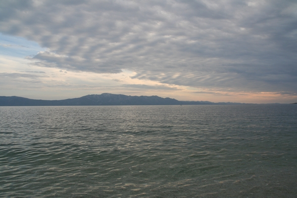 Pogled proti Pelješcu