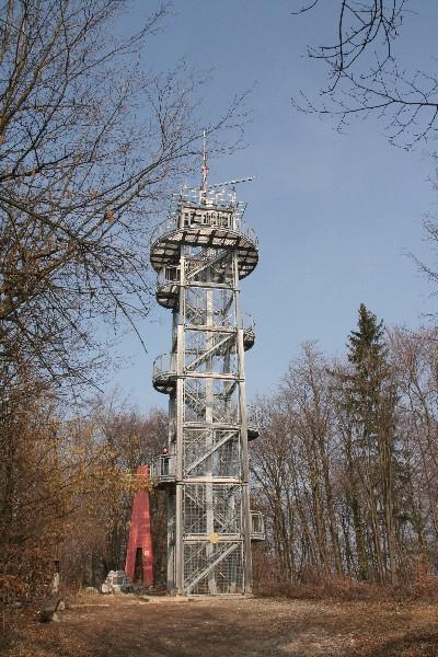 Stolp na vrhu