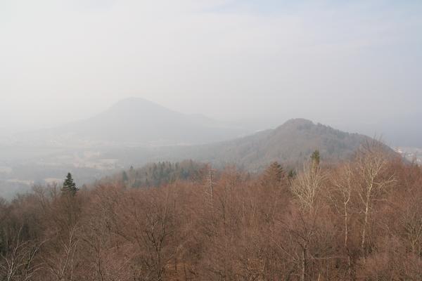 Pogled proti Šmarni gori