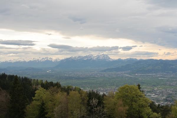 Pogled na Säntis