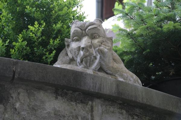 Nekateri meščani Bregenza so ob pogledu na nas okameneli