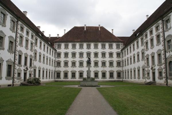 Notranje dvorišče dvorca