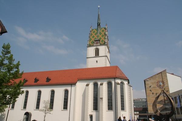 V centru Friedrichshafna