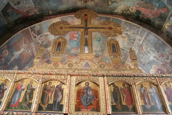 Notranjost samostana