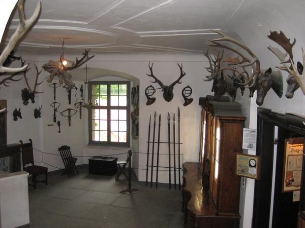 Lovska soba v gradu