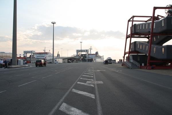 Pristanišče v Calaisu