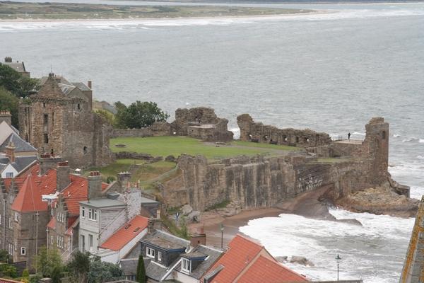Pogled na grad iz zvonika katedrale