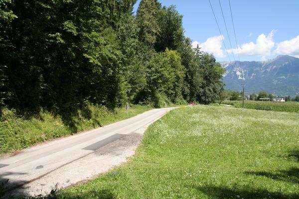 Izhodišče med Dobro goro in Homcem