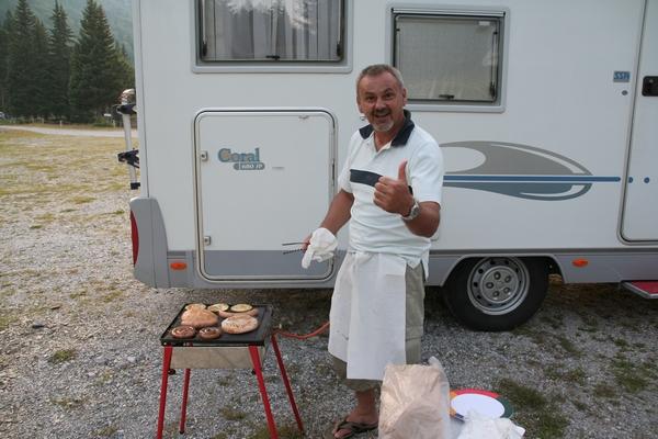 Chef in kosilo