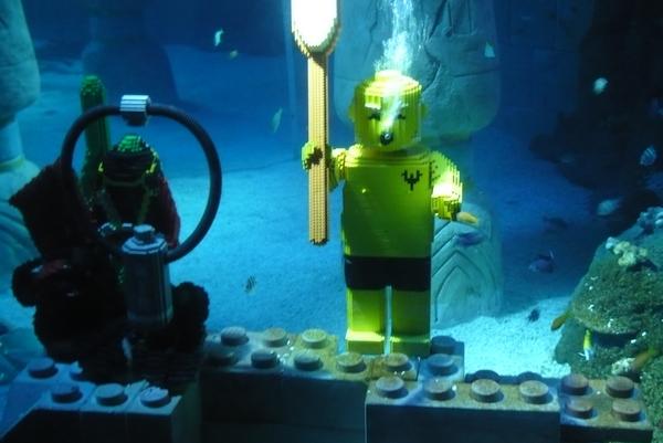 Novi akvarij v Legolandu