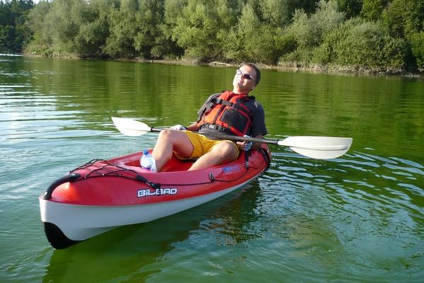 To veslanje pa sploh ni naporno...