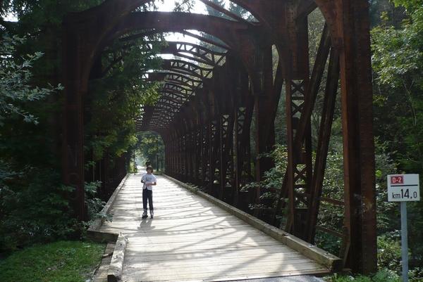 Most pred počivališčem