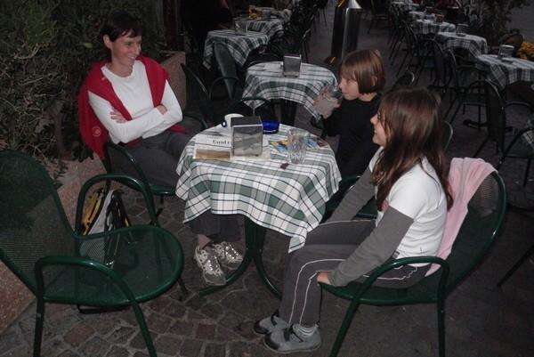Cappuccino pri grofih iz Arca