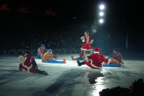 Božički na ledu