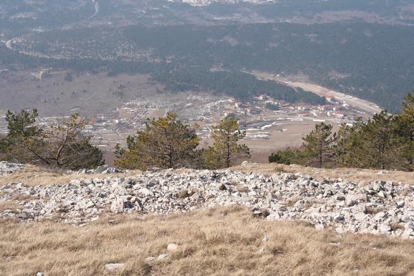 Pogled na Podgorje iz Grmade