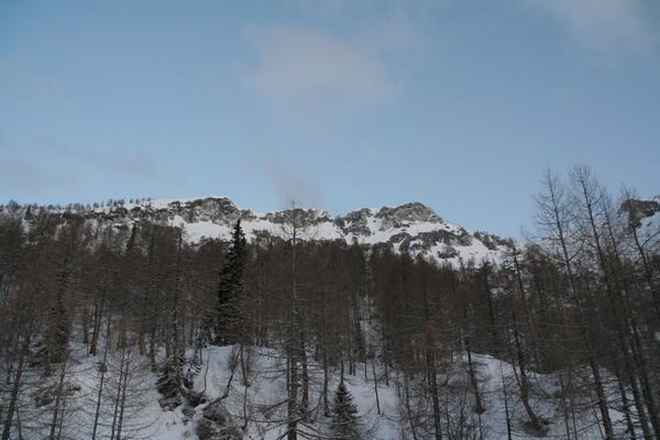 Mrežce in Lipanski vrh
