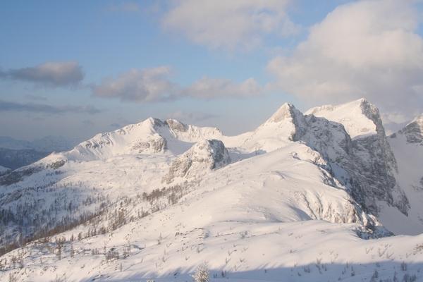 Viševnik, Mali in Veliki Draški vrh