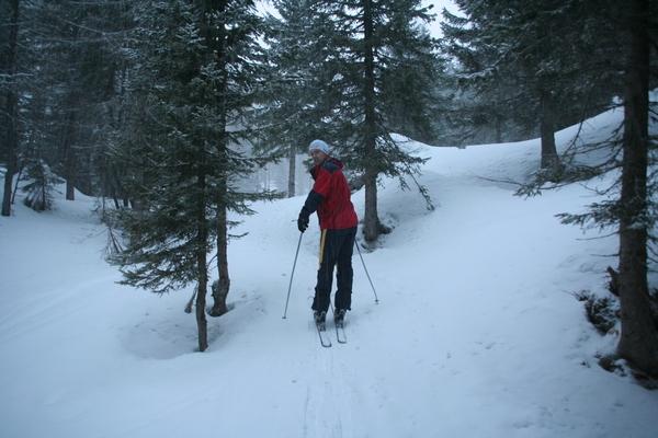 Prihod na travnike pod Lipanco