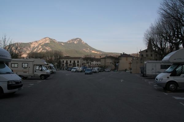 Parkirišče pri Castellanu