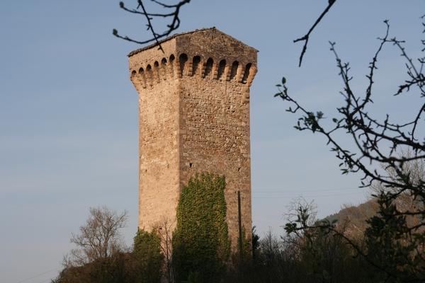 Stolp je del mestnega obzidja