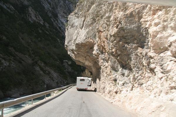 Vožnja skozi kanjon
