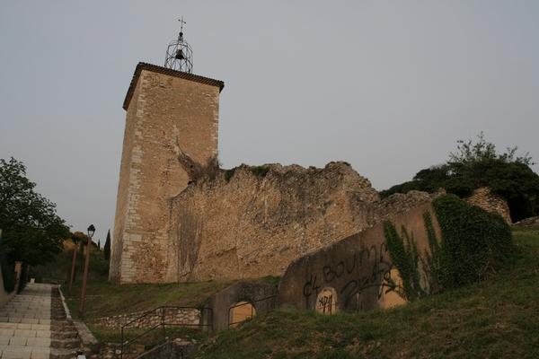 Stolp nad mestecem