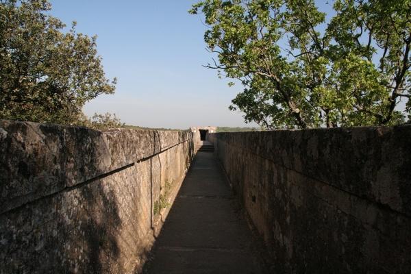 Vrhnji del akvedukta