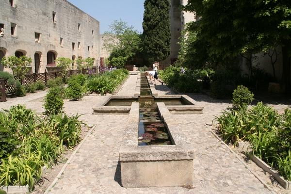 Park na dvorišču gradu