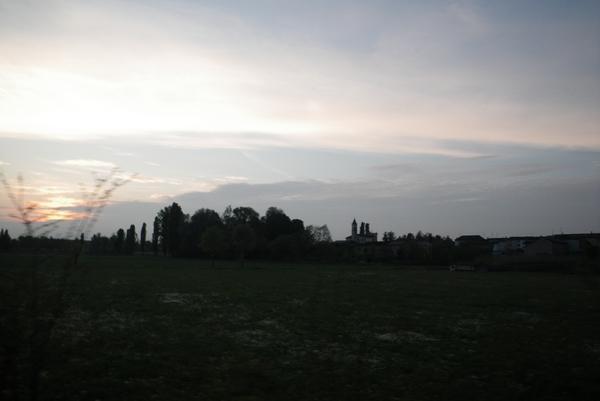 Vožnja proti Cremoni