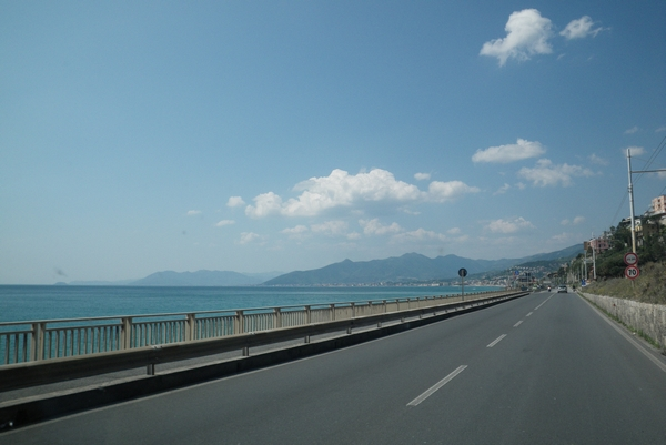 Vožnja ob italijanski obali