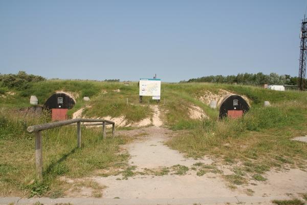 Vhod v nekdanje bunkerje mornariškega poveljstva