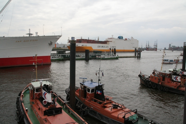 Hamburg je predvsem pristanišče