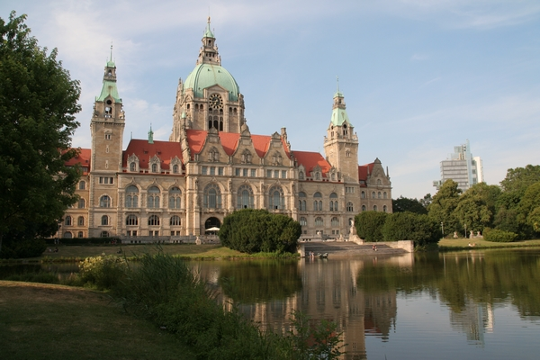 Nova mestna hiša in Maschsee