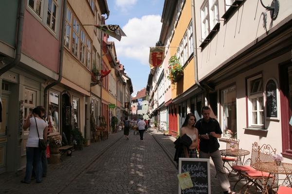 Ulica na Krämerbrücke