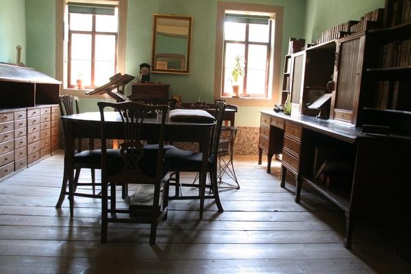 Pisateljeva delovna soba