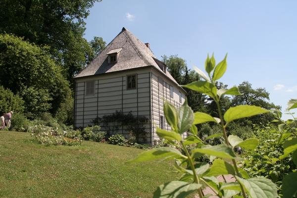 Goethejeva hiša v parku Ill
