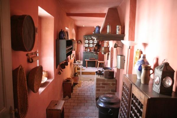 Kuhinja v Schillerjevi hiši