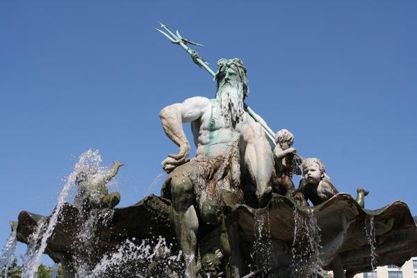 Neptunova fontana na Alexanderplatzu