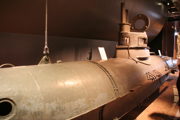 Ein Mann U-Boat