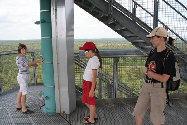 Na razglednem stolpu