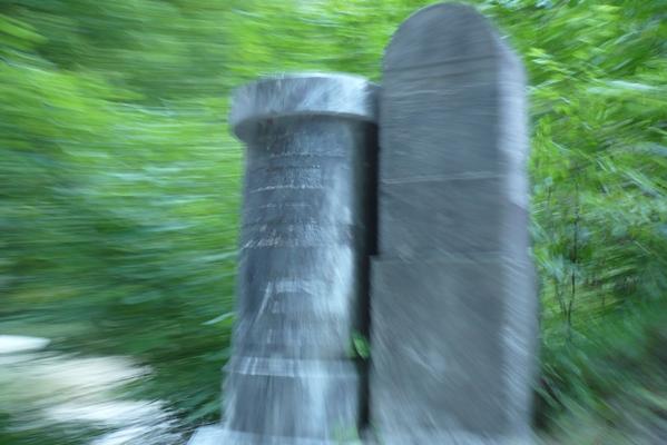 Meje so vedno bolj zabrisane (mejna kamna med Kranjsko in Koroško)