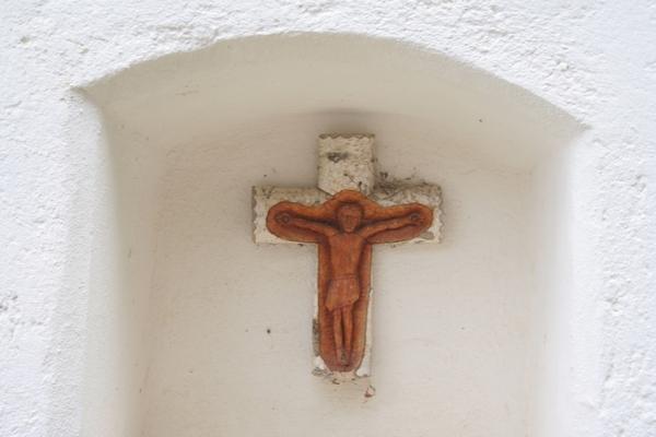 Križani v kapelici pri Križanu